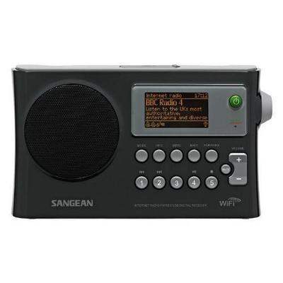 Sangean WFR28 Black WiFi Radio w/ Internet Radio/Network Music Player/USB/FM RDS Digital Receiver