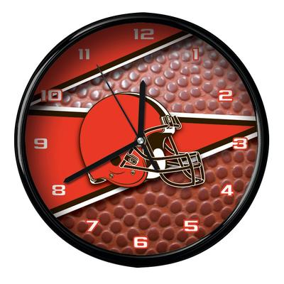 Cleveland Browns 12'' Football Clock