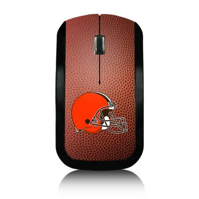 Cleveland Browns Football Design Wireless Mouse