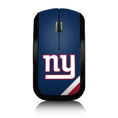 New York Giants Diagonal Stripe Wireless Mouse