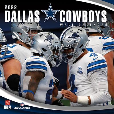 Dallas Cowboys 2022 Mini Wall Calendar