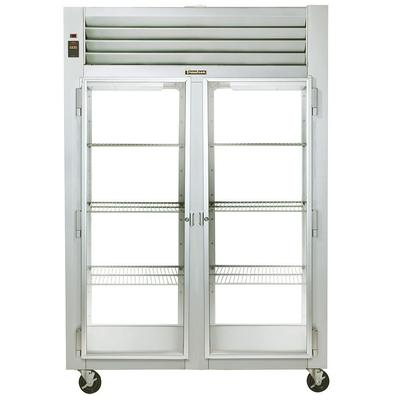 Traulsen 2-Section With 2-Glass Front And Rear Doors Pass Through Refrigerator (G21014P)