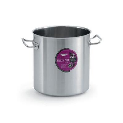 Vollrath 76-qt Stainless Stock Pot with Aluminum-Stainless Clad Bottom
