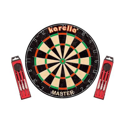 Karella Dartscheibe bunt Dart Bi...