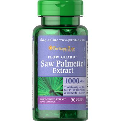 Puritan's Pride 2 Pack of Saw Palmetto 1000 mg-90-Softgels