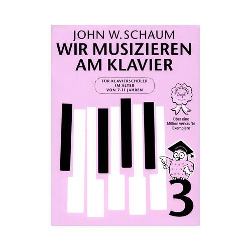 Bosworth Wir musizieren am Klavier 3