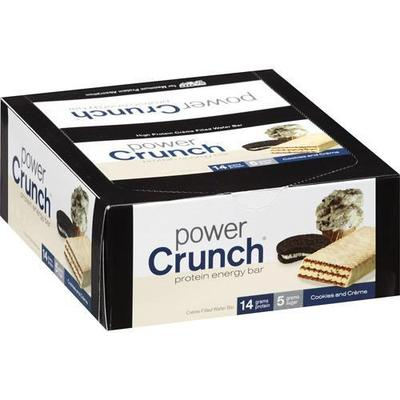 Power Crunch Cookies And Creme Protein Energy Bar - 1.4 oz - 12ct