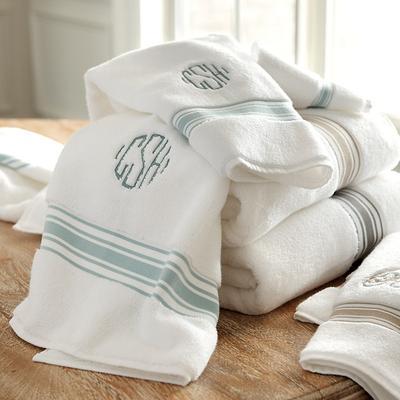 Amelie Bath Towel Collection Gray - Ballard Designs