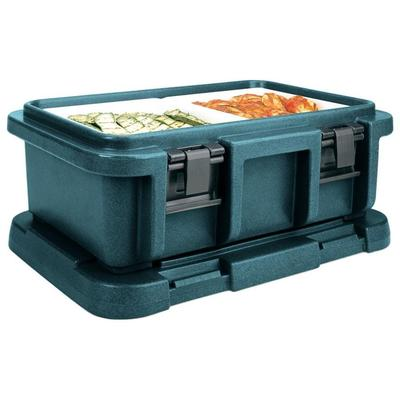 Cambro 20-Qt Top-Load Camcarrier Ultra Pan Carrier (UPC160192) - Granite Green