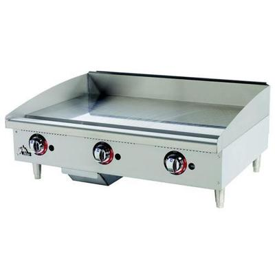 """Star Max 515TGF 15"""" Countertop Electric Griddle with Snap Action Thermostatic Controls - 4000 Watts"""