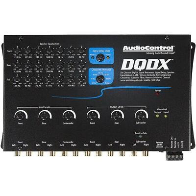 AudioControl DQDX (Black) Digital Signal Sound Processor