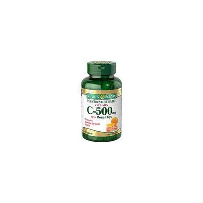 Nature's Bounty Chewable Vitamin C-500 - 500 mg - 90 Chewable Tablets