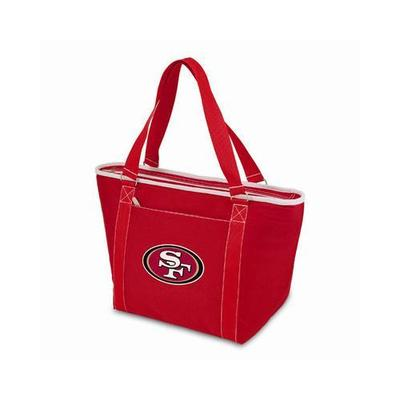 Picnic Time NFL Topanga Tote Cooler 619-00-1XX Color: Red, NFL Team: San Francisco 49ers