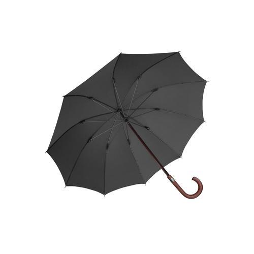 Euroschirm Stockregenschirm Herren-Stockschirm schwarz Stockschirme Regenschirme Accessoires Unisex