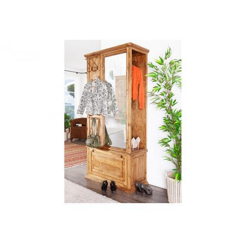 Mexico Möbel Kompaktgarderobe, Garderobe, Pinie massiv