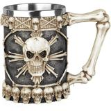 Nemesis Now Tankard of skulls Bi...