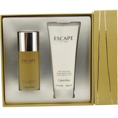 Calvin Klein Escape Mens 2 piece Fragrance Set