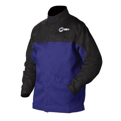 Miller Combo Welding Jacket - Black/Blue - XXL
