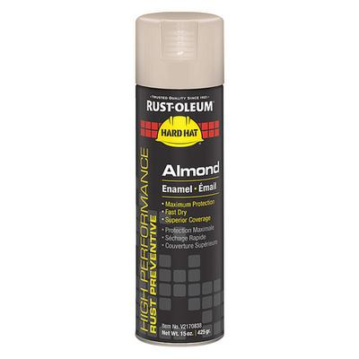 RUST-OLEUM V2170838 Rust Preventative Spray Paint, Almond, Gloss, 15 oz.