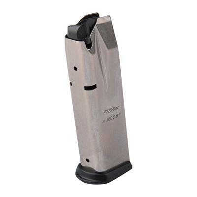 Mec-Gar - Mec-Gar Sig Semi Auto Magazines - Sig P228 9mm Nickel, 15rd