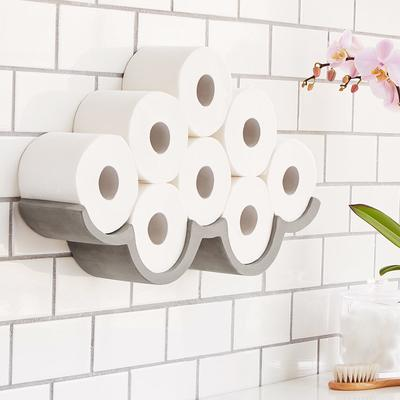 Cloudy Day Toilet Paper Storage