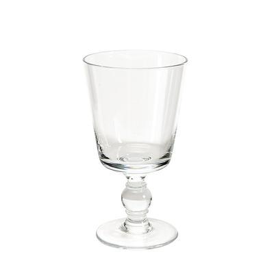 Set of 4 St. Tropez Glassware - Wine Goblet Clear - Ballard Designs