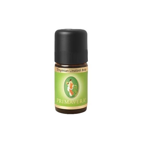 Primavera Aroma Therapie Ätherische Öle bio Thymian Linalol bio 5 ml