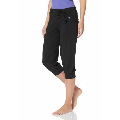 Ocean Sportswear Yogahose Soulwear - 3/4 Yoga Pants schwarz Damen