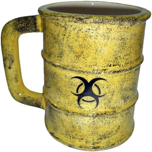 Nemesis Now Toxic Waste Mug Tasse - gelb