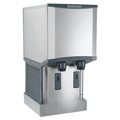 Scotsman HID312AW-1 260 lb Wall-Mount Nugget Ice & Water Dispenser - 12 lb Storage, Cup Fill, 115v