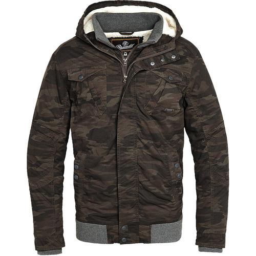 Brandit Parkmont Jacket Herren-Winterjacke - camouflage