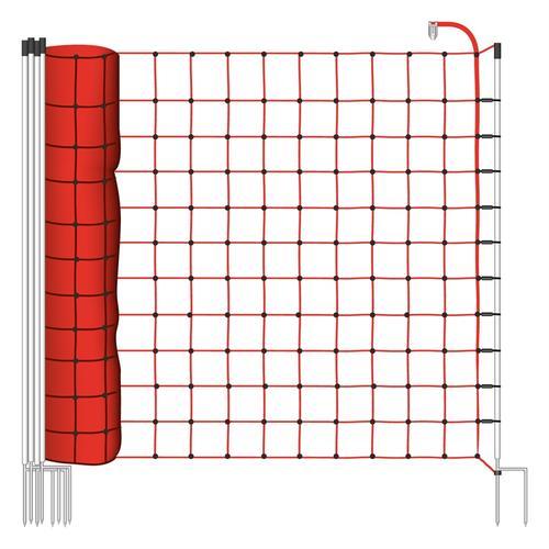 25m Elektrozaun-Netz, Euro, 170cm, 2 Spitzen