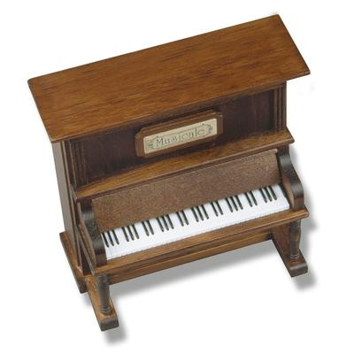 Holz-Klavier Spieluhr mit Melodi...