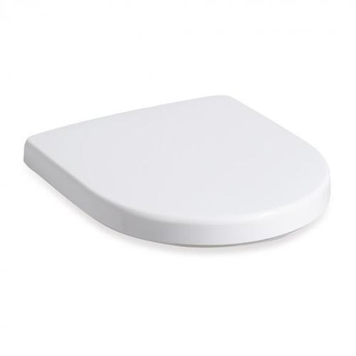 Geberit Renova WC-Sitz mit Deckel weiß Scharniere edelstahl 573070000