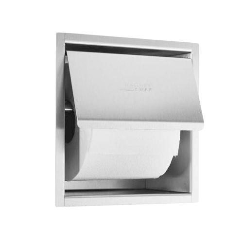 Wagner-Ewar A-Linie Unterputz Toilettenpapierhalter B: 163 H: 170 T: 100 mm edelstahl gebürstet 727740