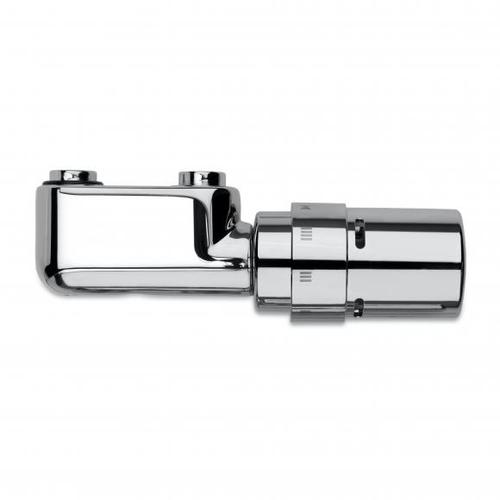 Vasco Design-Ventilgarnitur für Mittenanschluss, Eckform chrom 118210300000099