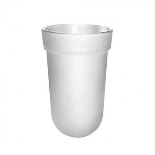 Emco Polo Behälter Kristallglas satiniert, 4018445078832