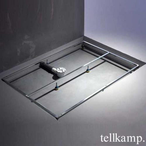 Tellkamp Aquazone Trägergestell für Duschwanne L: 90 B: 90 H: 3,5 cm TN0300-004-9090U