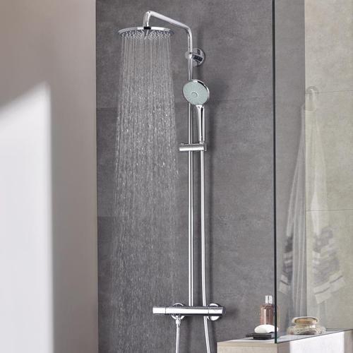 Grohe Euphoria XXL System 210 Duschsystem mit Thermostatbatterie für Wandmontage 27964000