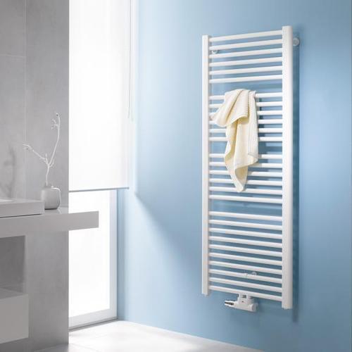 Kermi Basic-50 Badheizkörper für Warmwasser- oder Mischbetrieb B: 45 H: 177 cm weiß, 767 Watt E001M1800452XXK