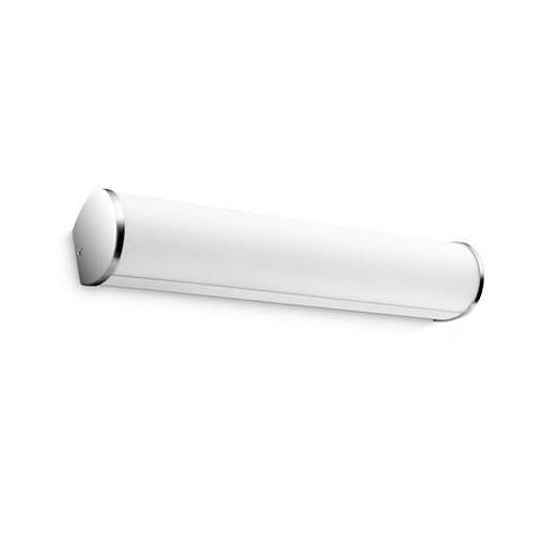 PHILIPS myBathroom Fit 34058/11/16 LED Wandleuchte B: 33.3 H: 6.3 T: 6.4 cm, chrom/weiß 340581116, EEK: A+
