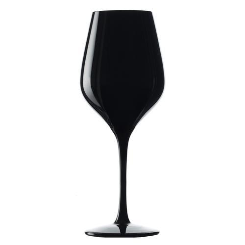 Stölzle Weinglas Exquisit, (Set, 6 tlg.), 6-teilig schwarz Kristallgläser Gläser Glaswaren Haushaltswaren