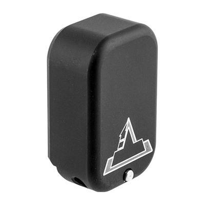 Taran Tactical Innovations Base Pad +3/+4 For Glock 17/22 - Base Pad +3/+4 For Glock 17/22, Flat Bla