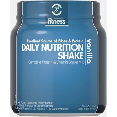Puritan's Pride Fitness Daily Nutrition Shake Vanilla-1 lb Powder