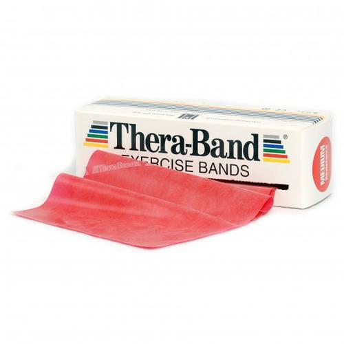 Thera-Band - Übungsband - Fitnessband Gr 12,8cm x 5,50m rot