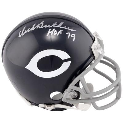 """Fanatics Authentic Dick Butkus Chicago Bears Autographed Riddell Throwback Mini Helmet with ''HOF 79'' Inscription"""