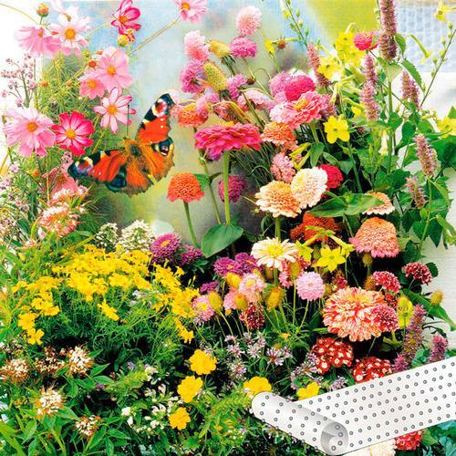 Blumen-Saatteppich 0,20 x 3 m Schmetterlingswiese