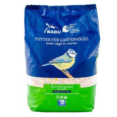 Vogelfutter Hoch-Energie-Mix, schalenfrei, 2 kg