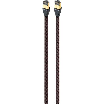 AudioQuest RJE Cinnamon 4.9' Ethernet Cable - Black/Red - RJECIN01.5