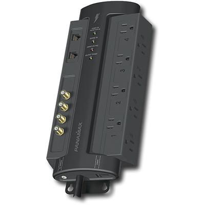 Panamax 8-Outlet Power Conditioner/Surge Protector - Black - M8-AV-PRO